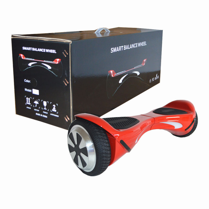 2 Wheels Self Balancing Scooter Hover Board With Bluetooth Music Colorful LED Light