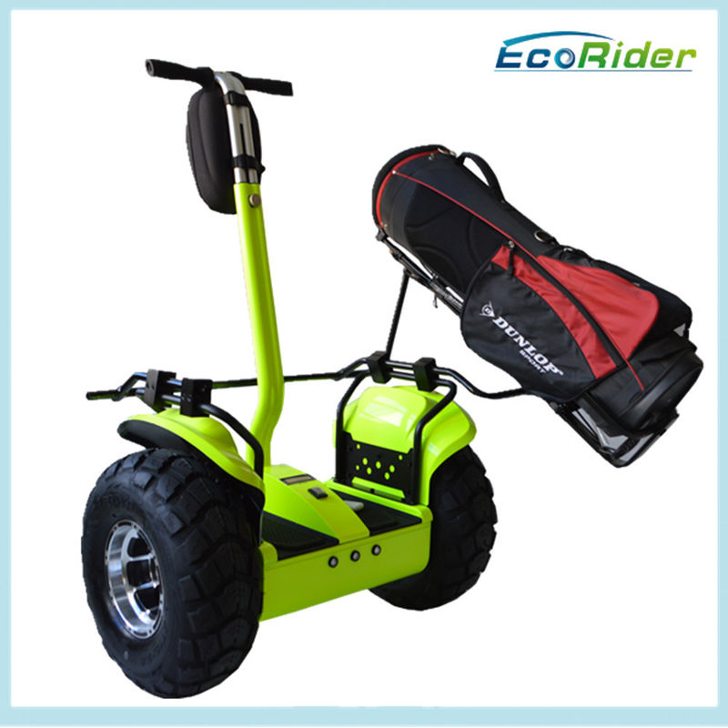 Security Personnel Patrol Electric Golf Scooter Two Wheel CE Approved