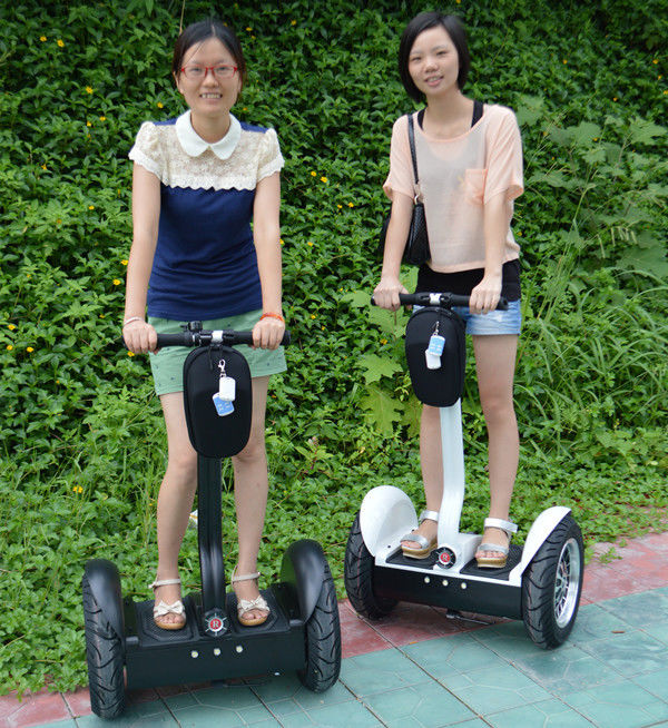 Rechargeable Electric Scooter 19 Inch 2 Wheeled Segway With Poster Board