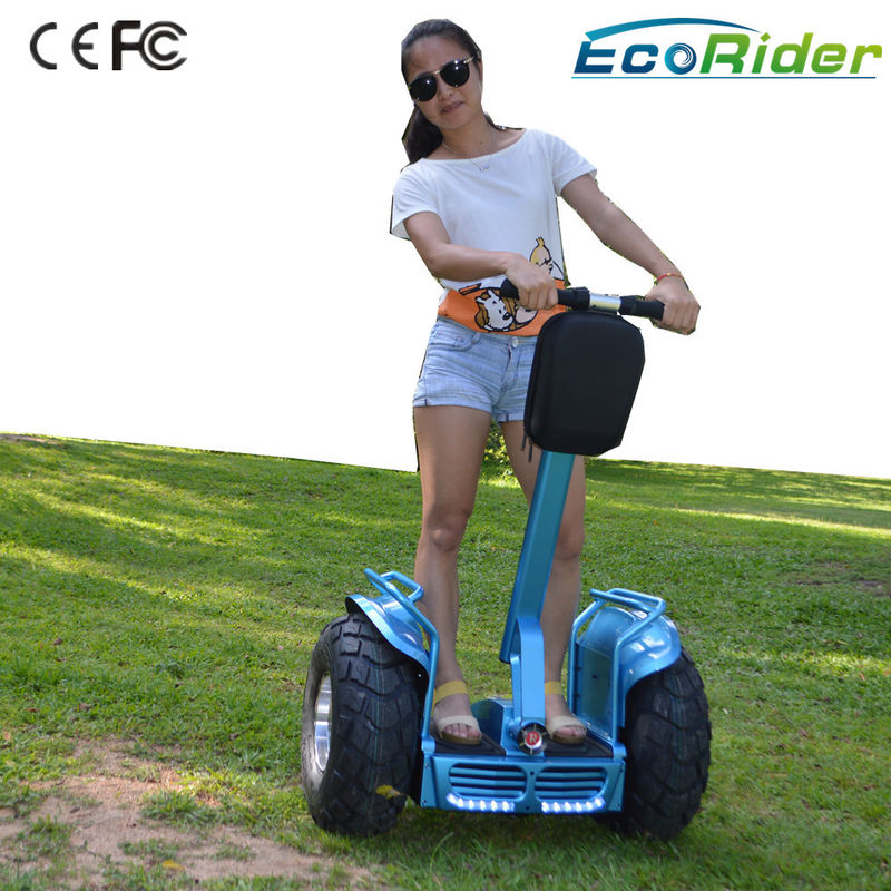 2 Wheeled Segway Electric Scooter Sensitive Turning For Short Distance Travel