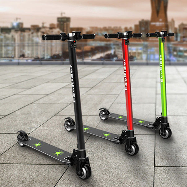 Carbon fiber folding electric scooters for adults , 2 hour Charging time