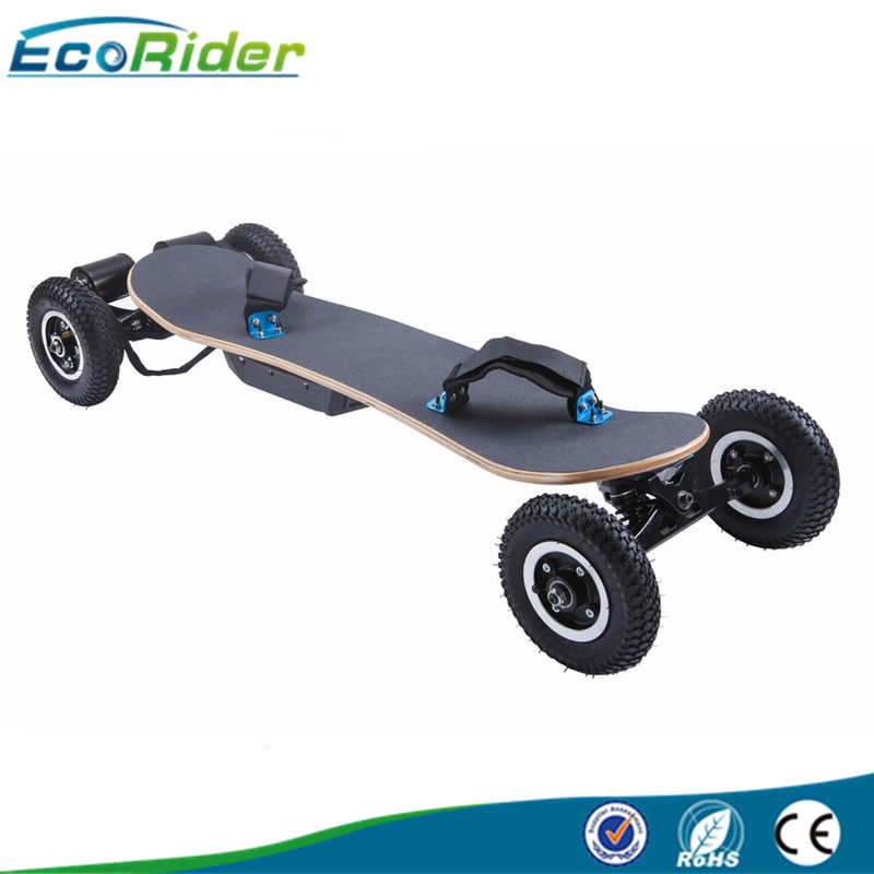 Two Speed Model 4 Wheel Skateboard , Adult Off Road Electric Skateboard With Samsung Battery