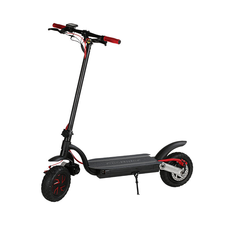 10 inch 700w dual motor 2 wheels folding electric scooter with double battery optional